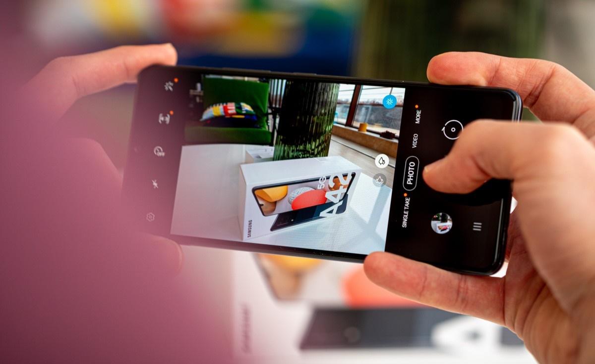 Samsung Galaxy A42 5G 128/6 GB- گوشی موبایل A42 سامسونگ