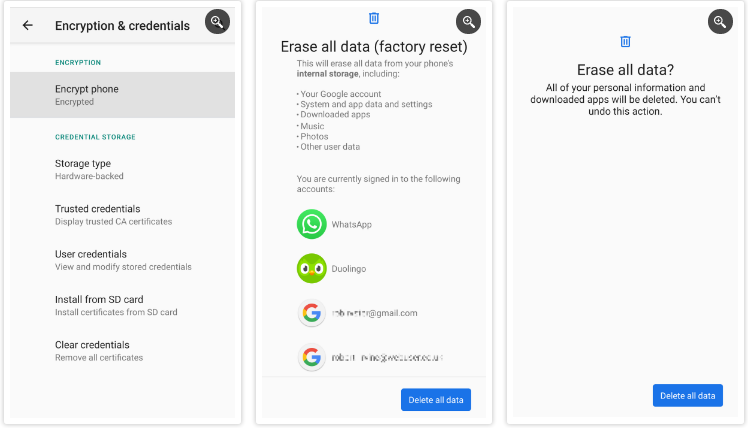 Restore Your Phone To Factory Settings