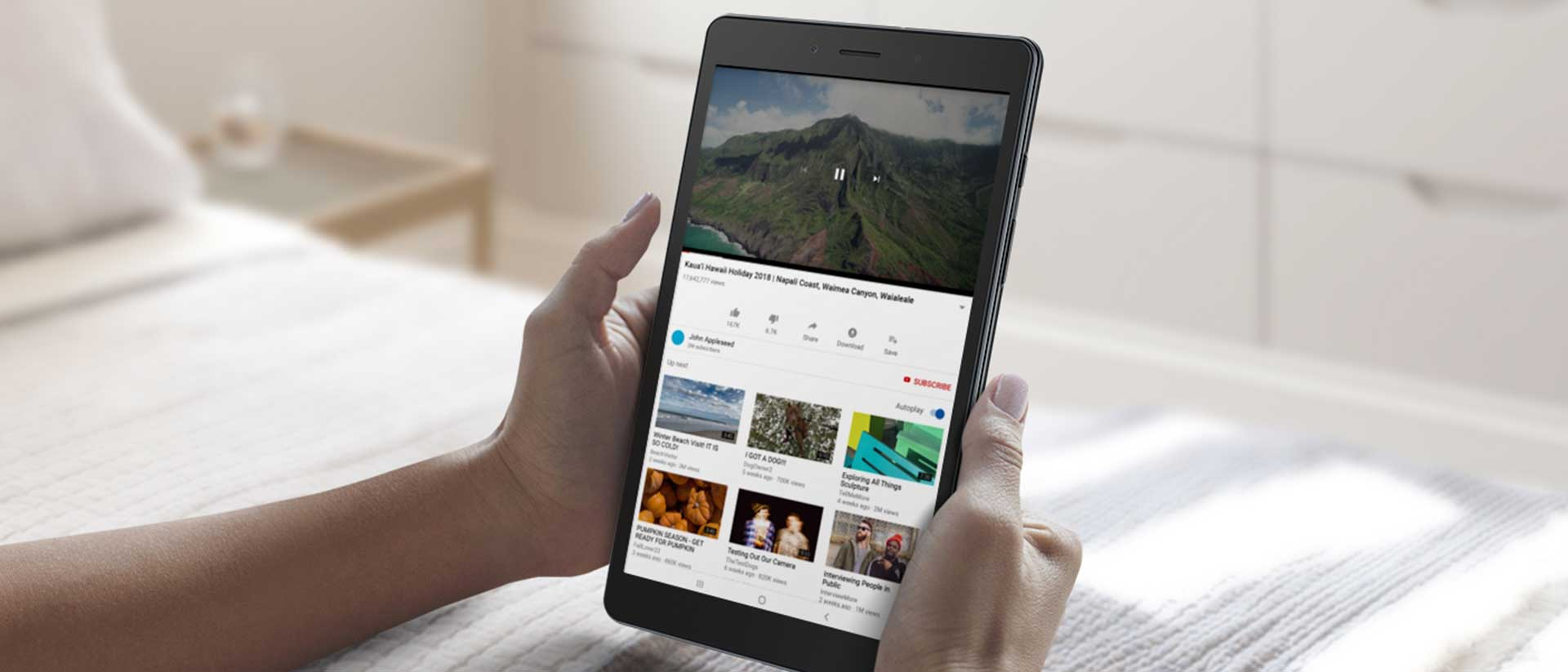 تبلت سامسونگ مدل Galaxy Tab A 8.0 ظرفیت 32 گیگابایت - موبایلتو